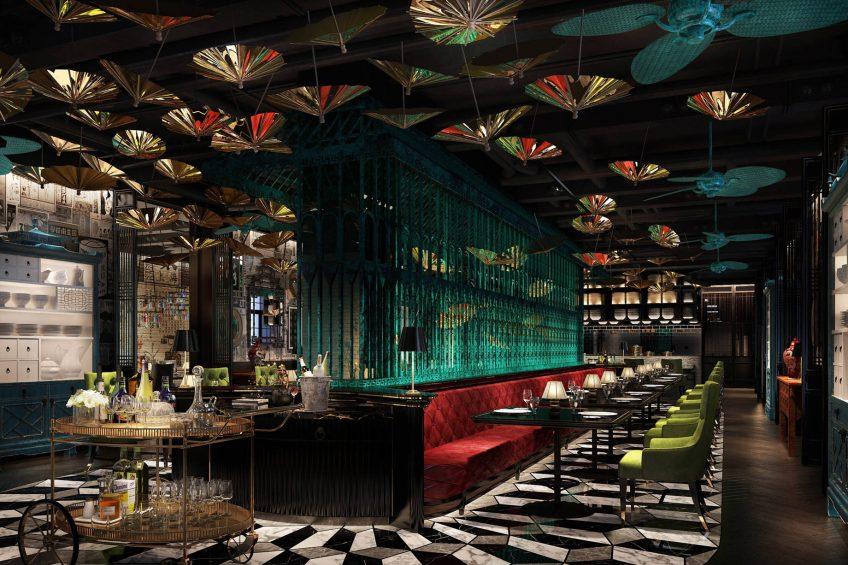 W Muscat Luxury Resort - Muscat, Oman - Ba Ban Bar