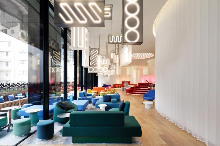 W Osaka Luxury Hotel - Osaka, Japan - LIVING ROOM Lounge Seating