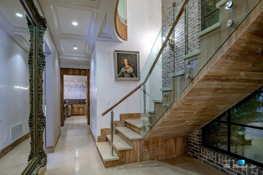 1105 Rivas Canyon Rd, Pacific Palisades, CA, USA - Luxury Real Estate - Stairs