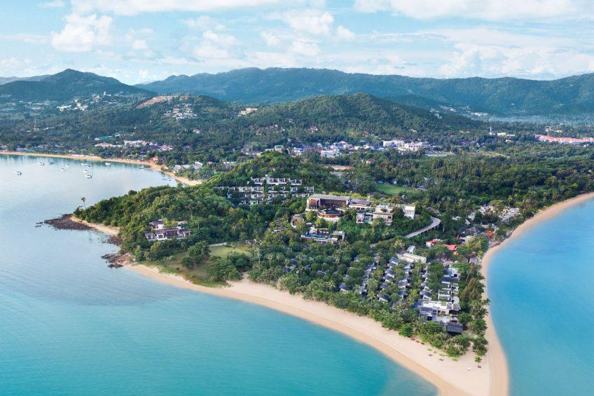 W Koh Samui Luxury Resort - Thailand - Resort Aerial View