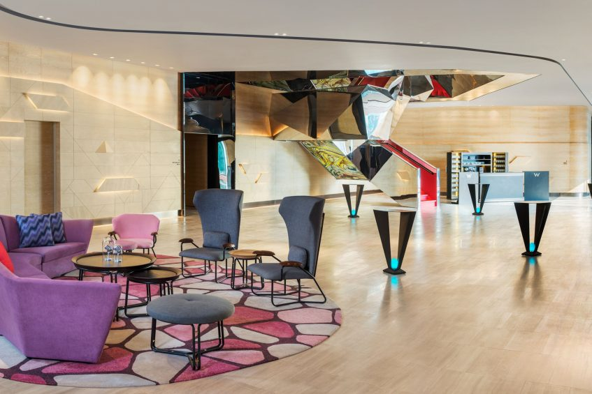 W Kuala Lumpur Luxury Hotel - Kuala Lumpur, Malaysia - Pre Function Area Great Room