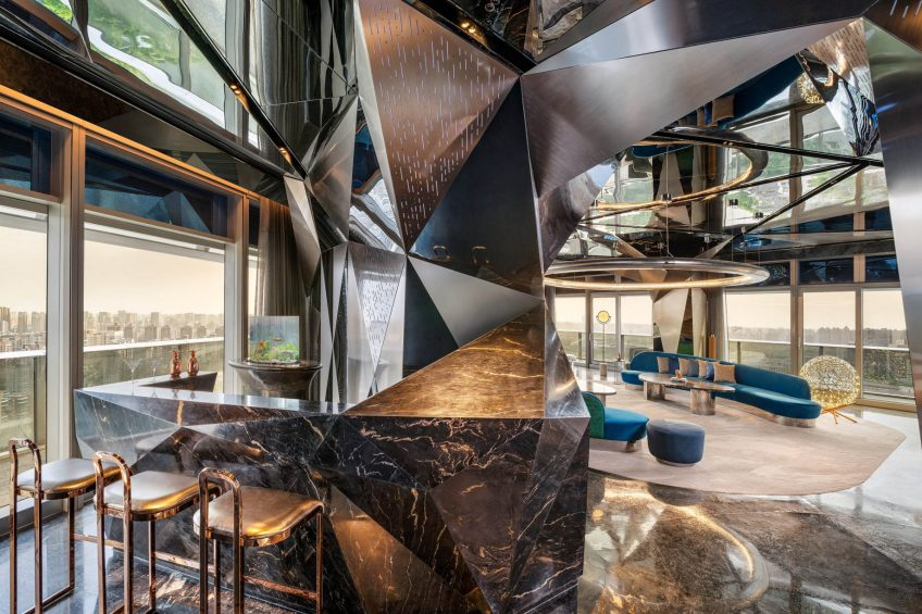 W Xi'an Luxury Hotel - Xi'an, Shaanxi Province, China - WOW Suite Bar