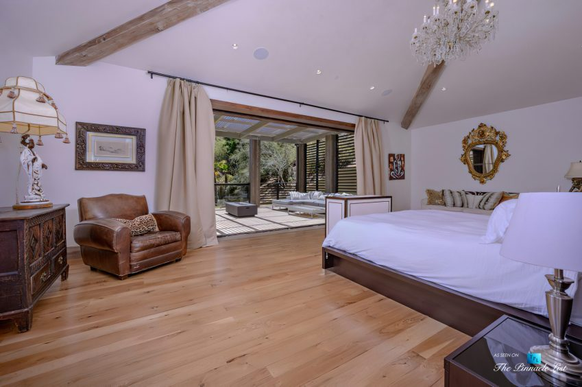 1105 Rivas Canyon Rd, Pacific Palisades, CA, USA - Luxury Real Estate - Master Bedroom