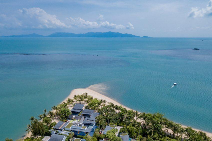 W Koh Samui Luxury Resort - Thailand - W Beach Aerial View