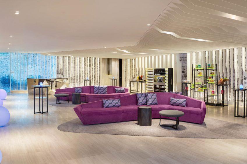 W Kuala Lumpur Luxury Hotel - Kuala Lumpur, Malaysia - Pre Function Area