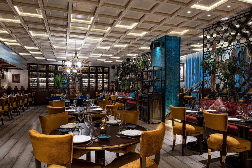 W Doha Luxury Hotel - Doha, Qatar - COYA Reataurant Tables