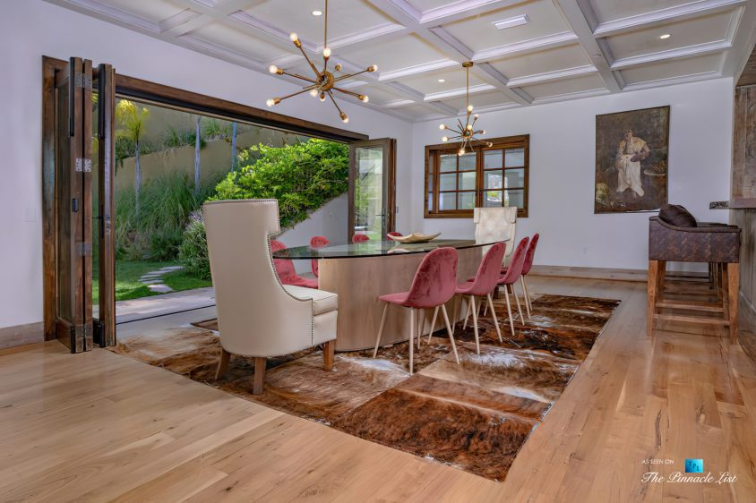 1105 Rivas Canyon Rd, Pacific Palisades, CA, USA - Luxury Real Estate - Dining Room