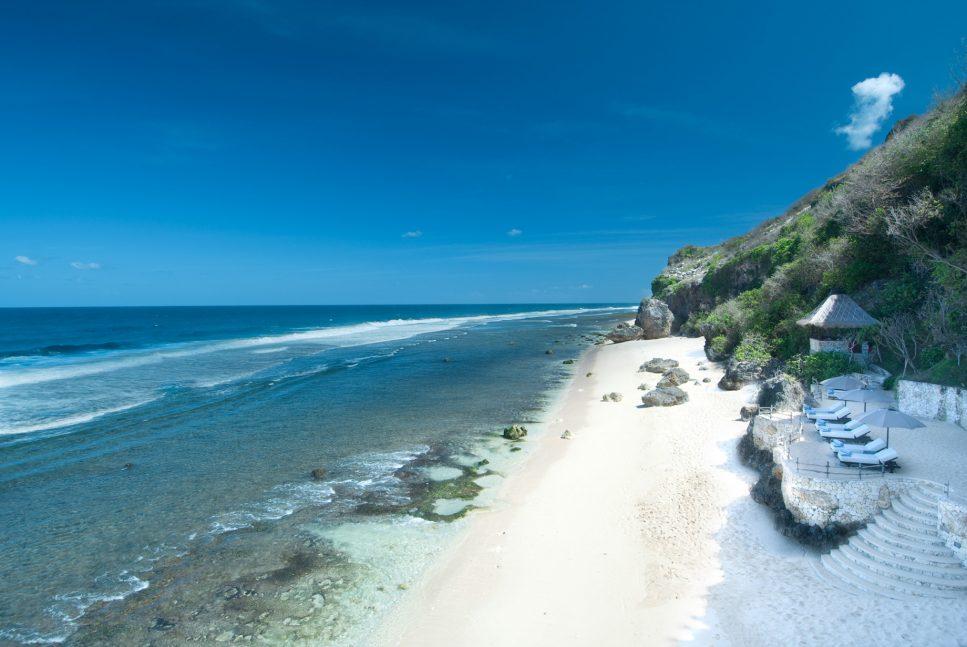 Bvlgari Luxury Resort Bali - Uluwatu, Bali, Indonesia - Resort Private White Sand Beach