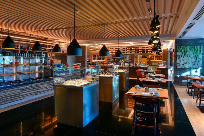 W Amman Luxury Hotel - Amman, Jordan - Mesh Resteraunt Breakfast Buffet