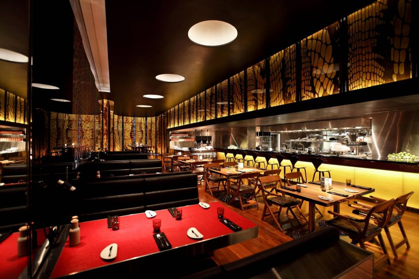 W Bangkok Luxury Hotel - Bangkok, Thailand - The Kitchen Table Seating