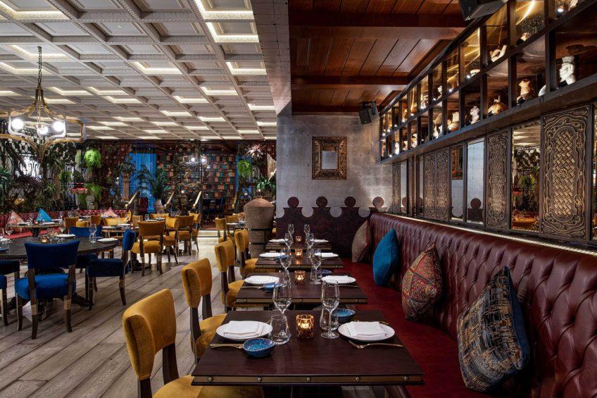 W Doha Luxury Hotel - Doha, Qatar - COYA Reataurant Seating