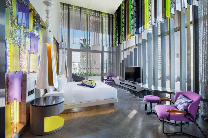 W Kuala Lumpur Luxury Hotel - Kuala Lumpur, Malaysia - E WOW Suite King Bedroom