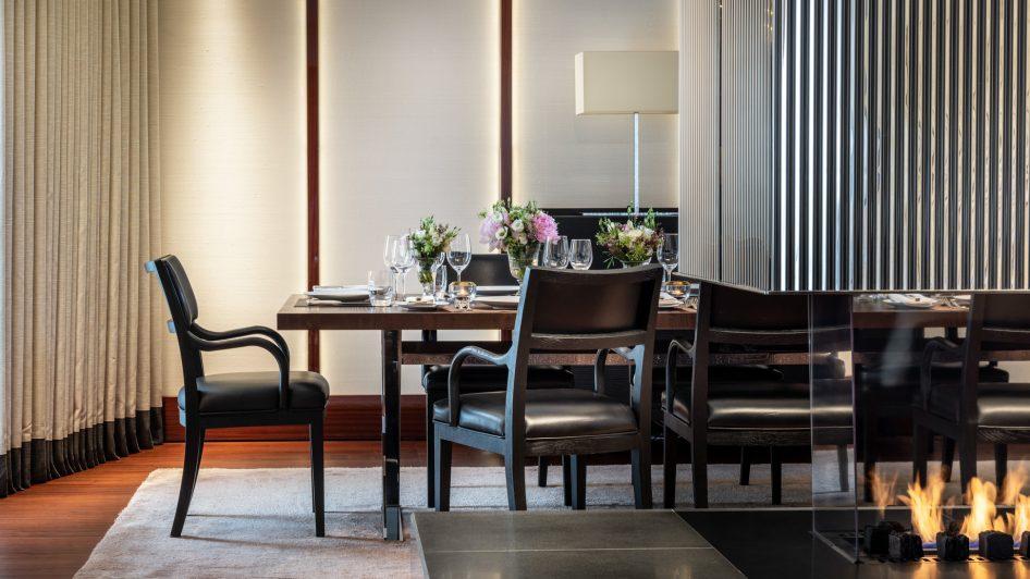 Bvlgari Luxury Hotel London - Knightsbridge, London, UK - Bvlgari Hotel Private Dining