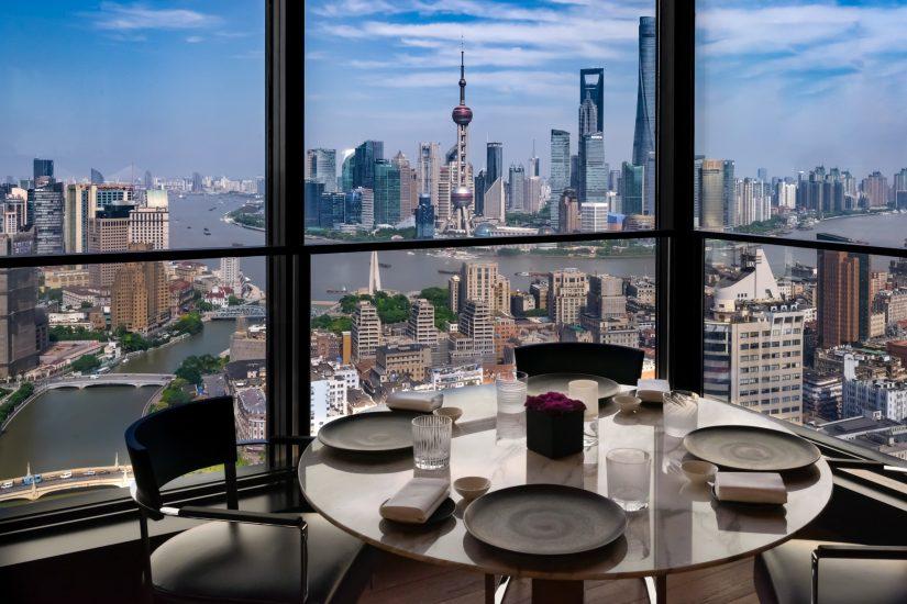 Bvlgari Luxury Hotel Shanghai - Shanghai, China - Il Ristorante View