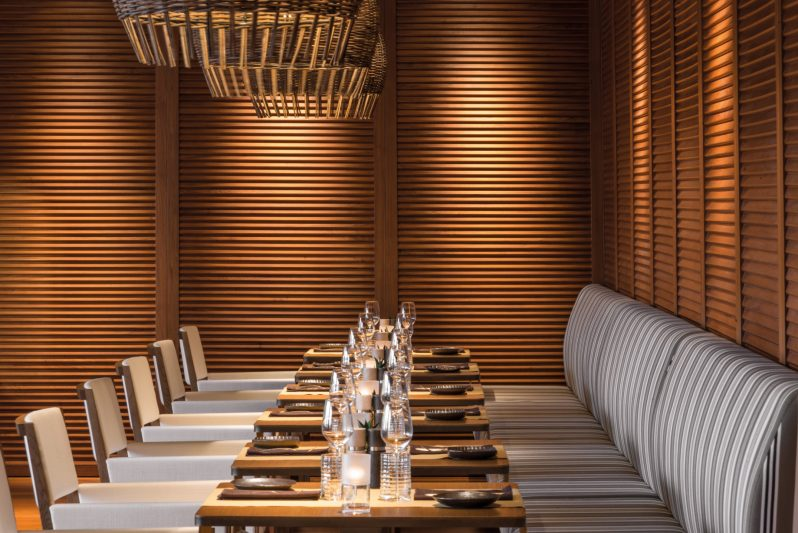 Bvlgari Luxury Resort Dubai - Jumeira Bay Island, Dubai, UAE - Il Cafe Seating