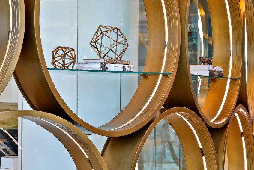 W Abu Dhabi Yas Island Luxury Hotel - Abu Dhabi, UAE - Roastery Design Detail