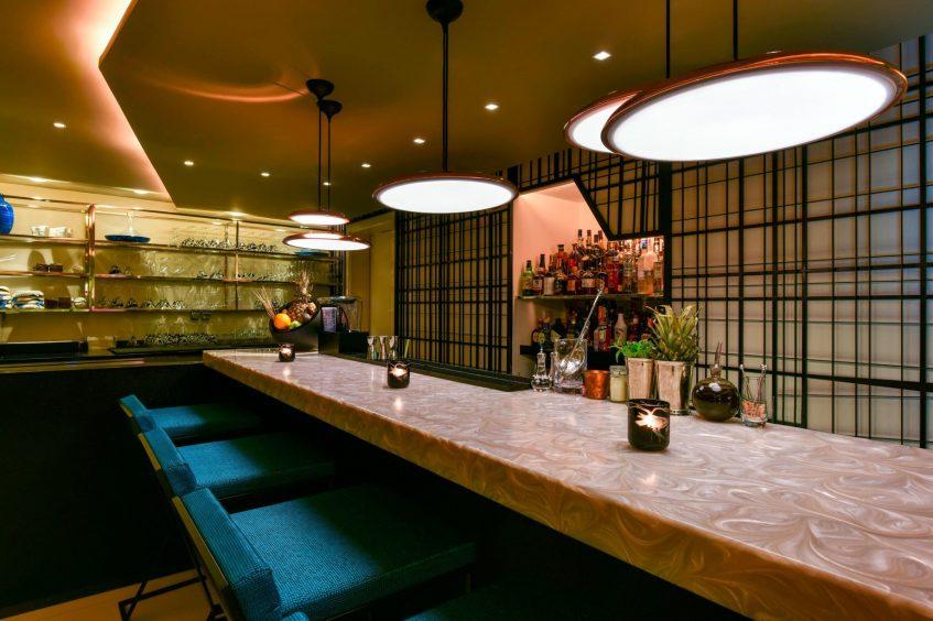 W Amman Luxury Hotel - Amman, Jordan - Enso Restaurant Dining Room
