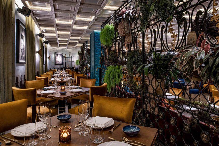 W Doha Luxury Hotel - Doha, Qatar - COYA Reataurant Decor