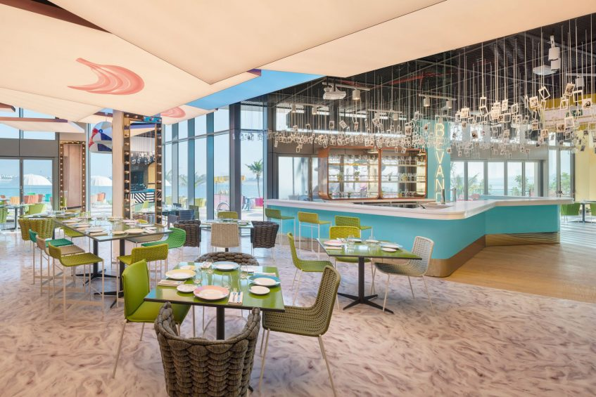 W Dubai The Palm Luxury Resort - Dubai, UAE - Torno Subito Restaurant