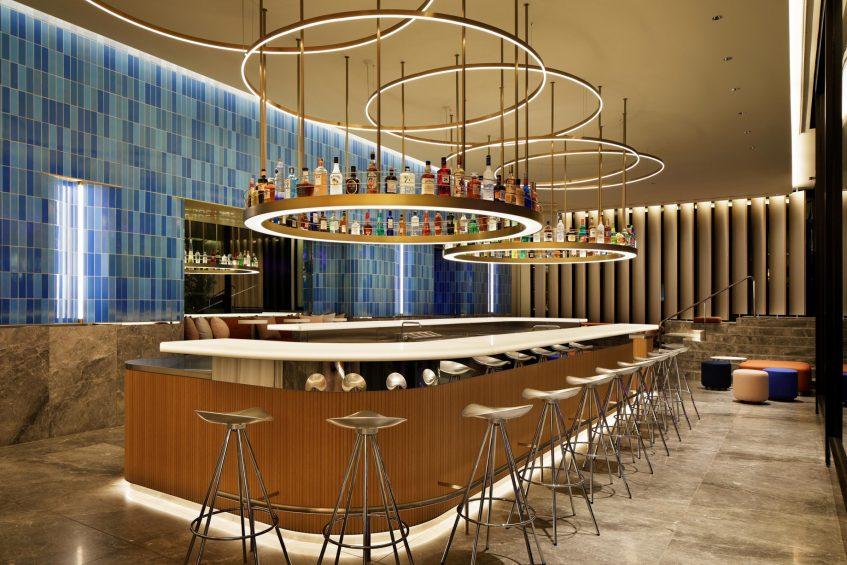 W Osaka Luxury Hotel - Osaka, Japan - WET BAR