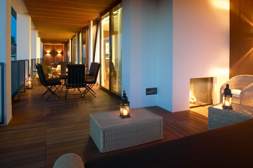 Bvlgari Luxury Hotel Milano - Milan, Italy - Bvlgari Suite Terrace Night