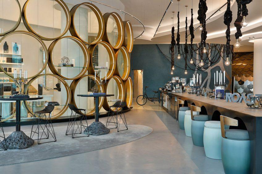 W Abu Dhabi Yas Island Luxury Hotel - Abu Dhabi, UAE - Roastery Restaurant