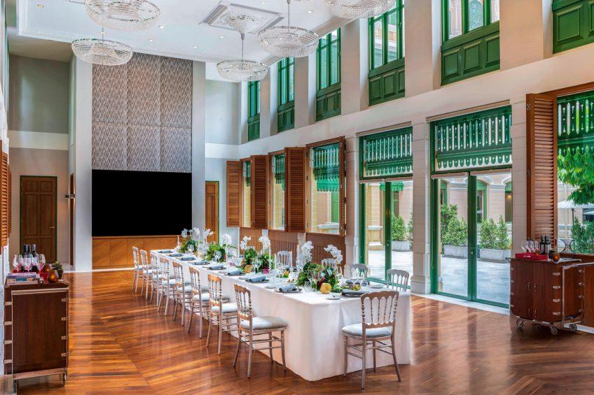 W Bangkok Luxury Hotel - Bangkok, Thailand - The Conservatory