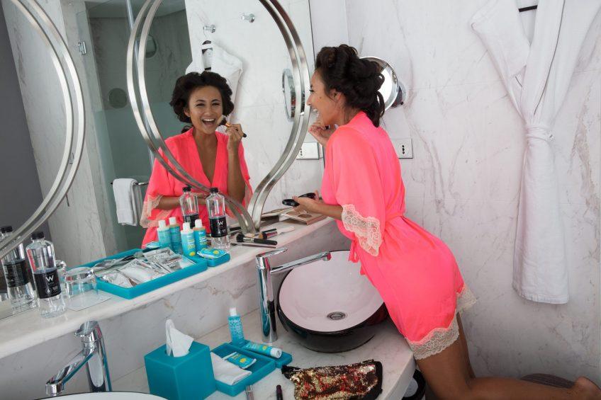 W Goa Vagator Beach Luxury Resort - Goa, India - Bathroom Lifestyle