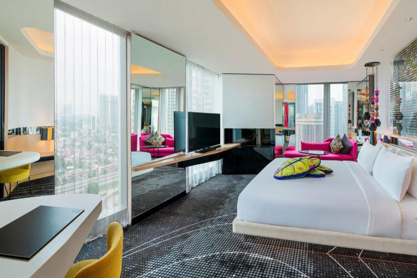 W Kuala Lumpur Luxury Hotel - Kuala Lumpur, Malaysia - Cool Corner Guest Room King