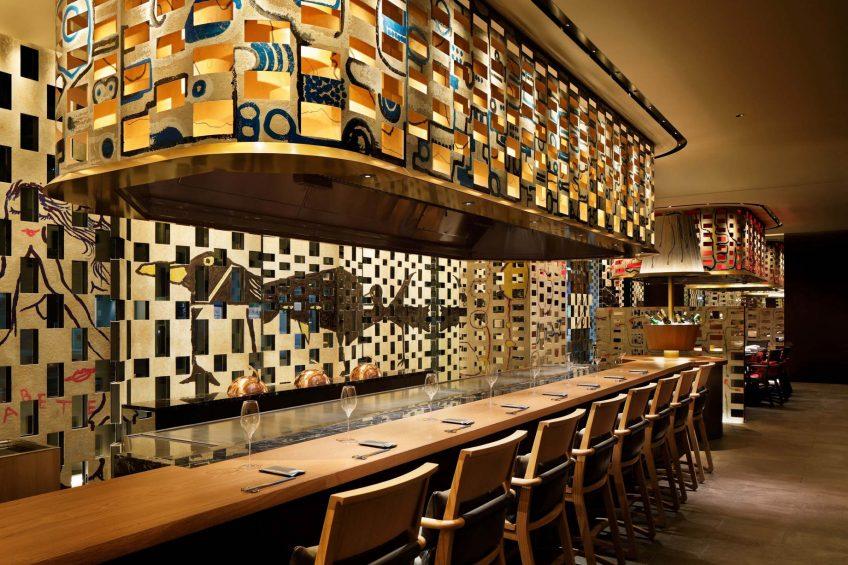 W Osaka Luxury Hotel - Osaka, Japan - Teppanyaki MYDO Restaurant
