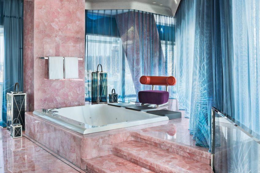 W Xi'an Luxury Hotel - Xi'an, Shaanxi Province, China - E WOW Suite Bathroom