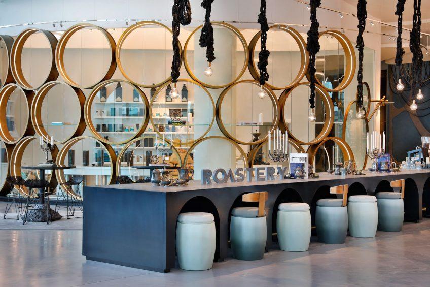 W Abu Dhabi Yas Island Luxury Hotel - Abu Dhabi, UAE - Roastery