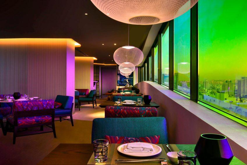 W Amman Luxury Hotel - Amman, Jordan - Enso Restaurant
