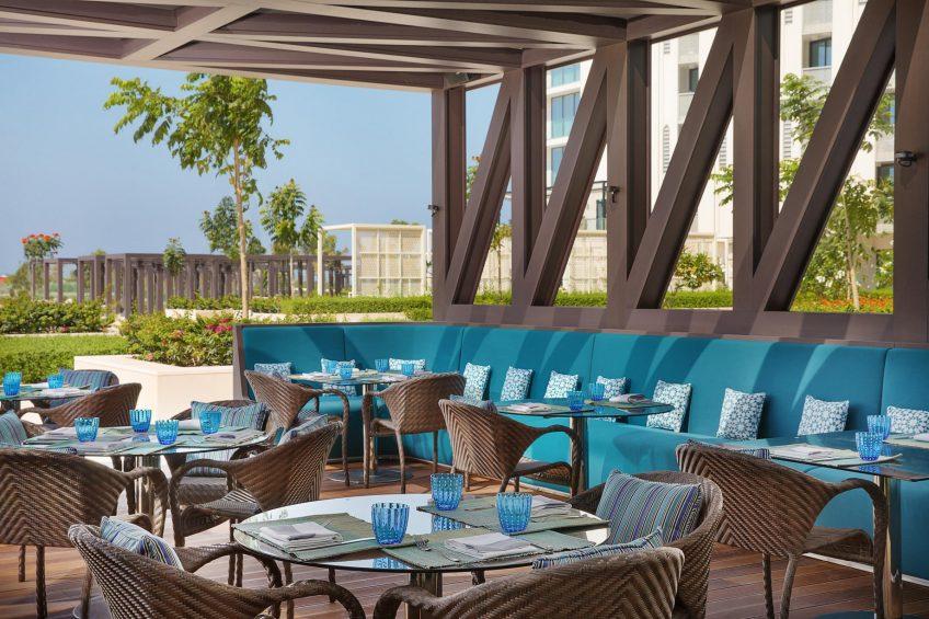 W Muscat Luxury Resort - Muscat, Oman - Harvest Restaurant Outdoor Patio