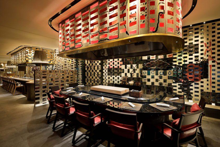 W Osaka Luxury Hotel - Osaka, Japan - Teppanyaki MYDO
