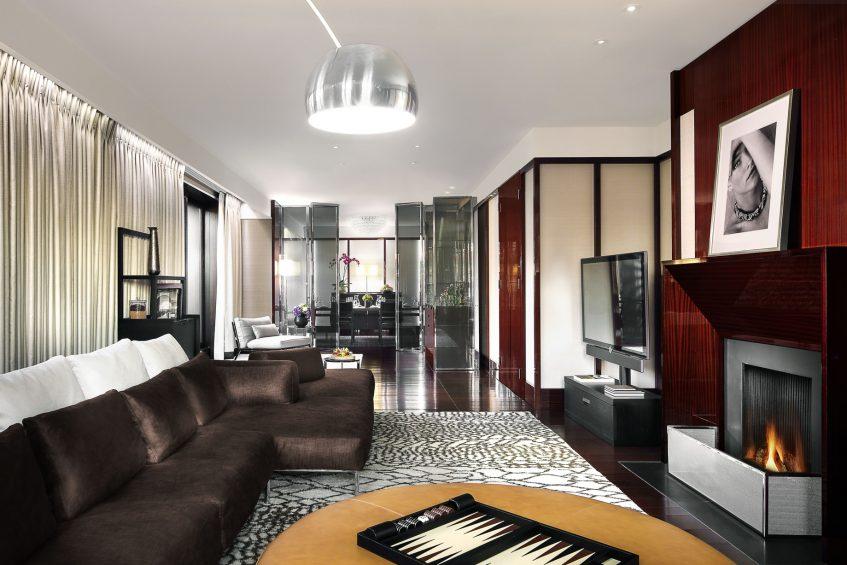 Bvlgari Luxury Hotel London - Knightsbridge, London, UK - Bvlgari Suite Living and Dining Room