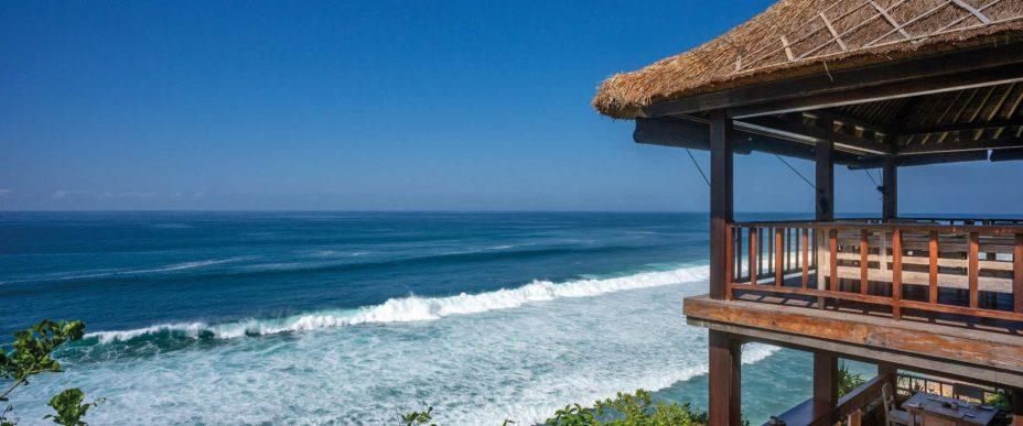 Bvlgari Luxury Resort Bali - Uluwatu, Bali, Indonesia - La Spiaggia Restaurant Cliffside Ocean View