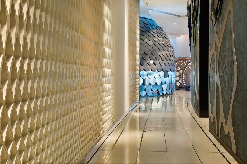 W Abu Dhabi Yas Island Luxury Hotel - Abu Dhabi, UAE - Hallway