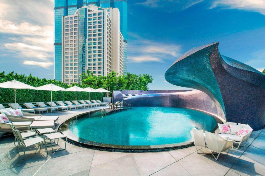 W Bangkok Luxury Hotel - Bangkok, Thailand - WET Deck Pool