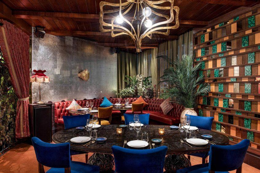 W Doha Luxury Hotel - Doha, Qatar - COYA Reataurant Table Setting