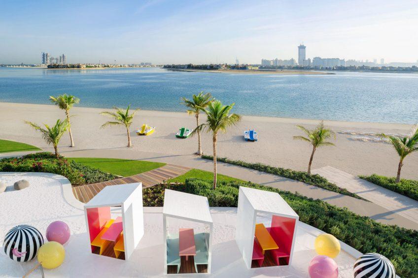 W Dubai The Palm Luxury Resort - Dubai, UAE - Torno Subito Beach