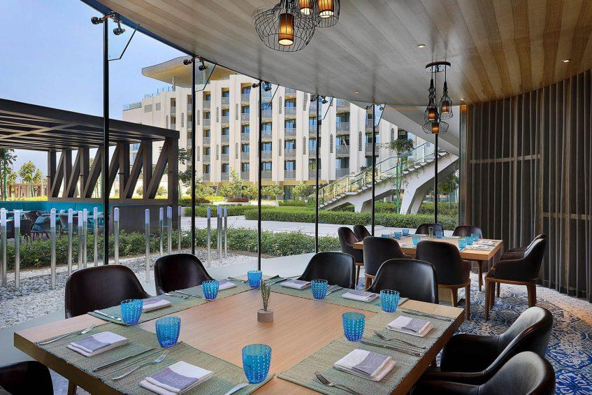 W Muscat Luxury Resort - Muscat, Oman - Harvest Outdoor Patio Table