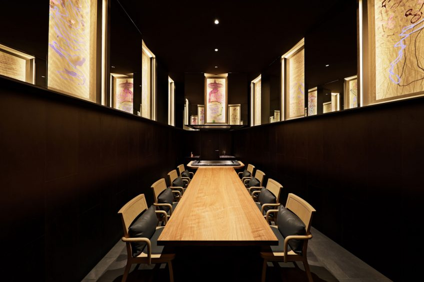 W Osaka Luxury Hotel - Osaka, Japan - Teppanyaki MYDO Table