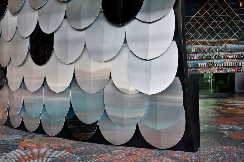 W Abu Dhabi Yas Island Luxury Hotel - Abu Dhabi, UAE - W Lounge Design Details