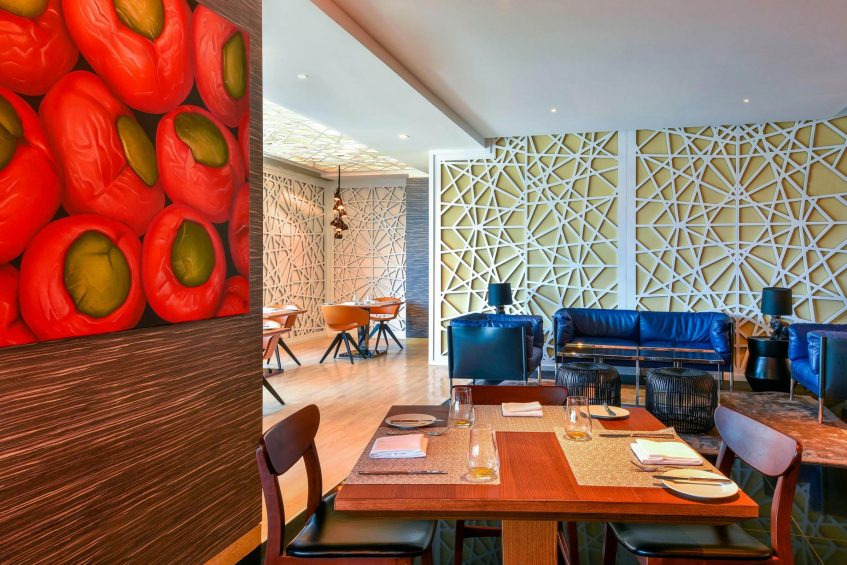 W Amman Luxury Hotel - Amman, Jordan - Mesh Restaurant Dining