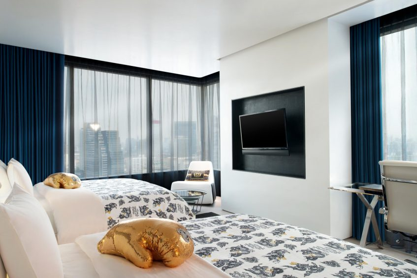 W Bangkok Luxury Hotel - Bangkok, Thailand - Cool Corner Guest Room