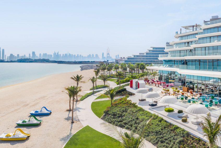 W Dubai The Palm Luxury Resort - Dubai, UAE - Torno Subito Exterior Beach Patio