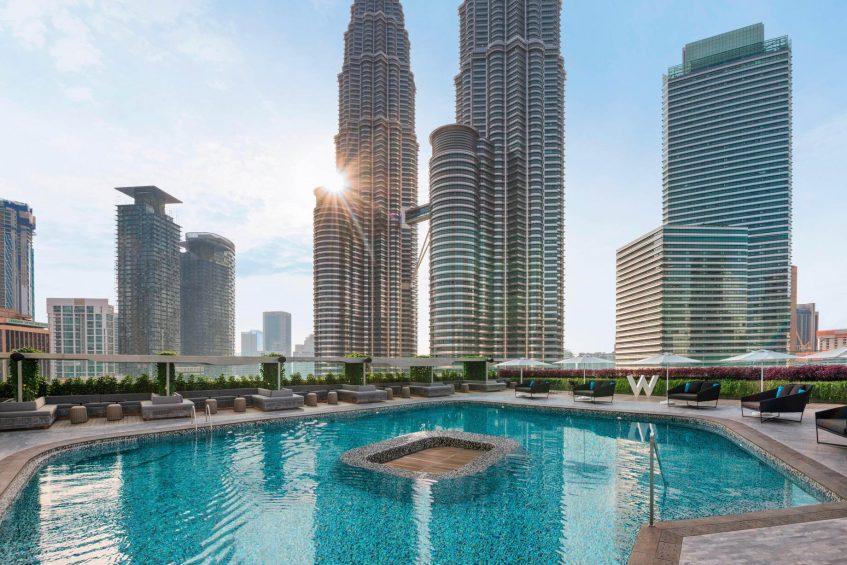 W Kuala Lumpur Luxury Hotel - Kuala Lumpur, Malaysia - WET Outdoor Pool