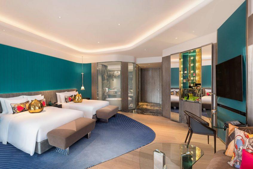 W Xi'an Luxury Hotel - Xi'an, Shaanxi Province, China - Bedroom
