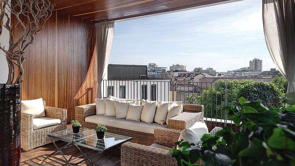 Bvlgari Luxury Hotel Milano - Milan, Italy - Bvlgari Suite Terrace